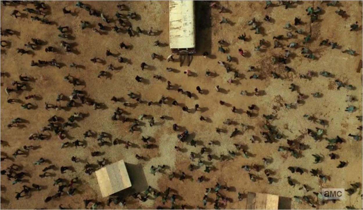 Les infectés de la Colonie dans Fear The Walking Dead