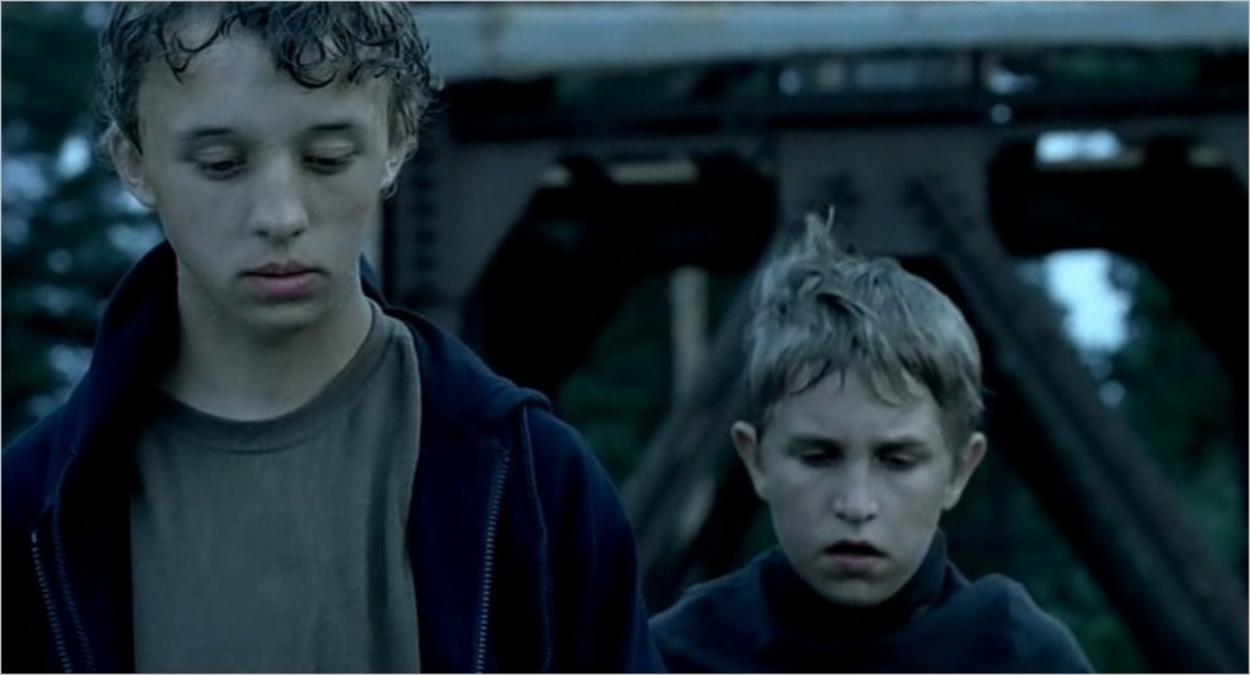 Andrey et Ivan, les deux frères du film Le retour
