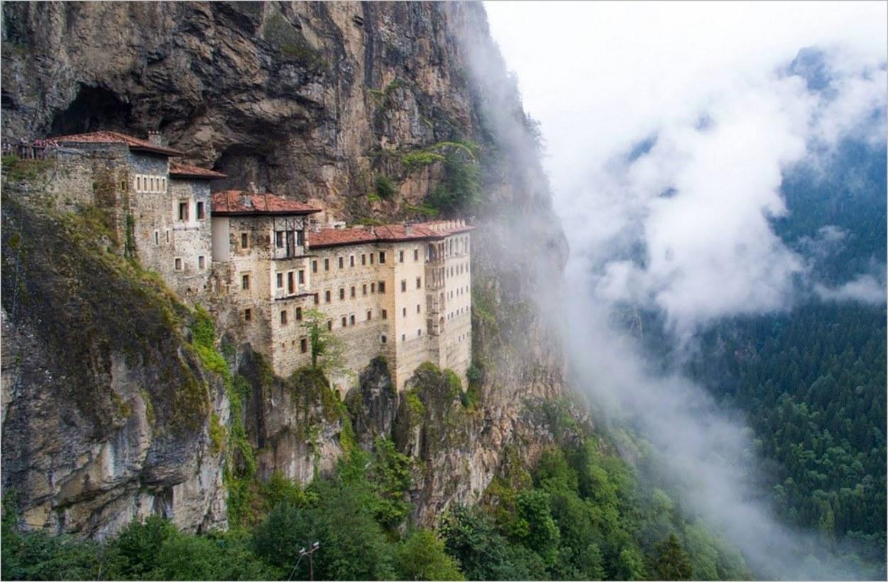Le monastère de Sumela en Turquie