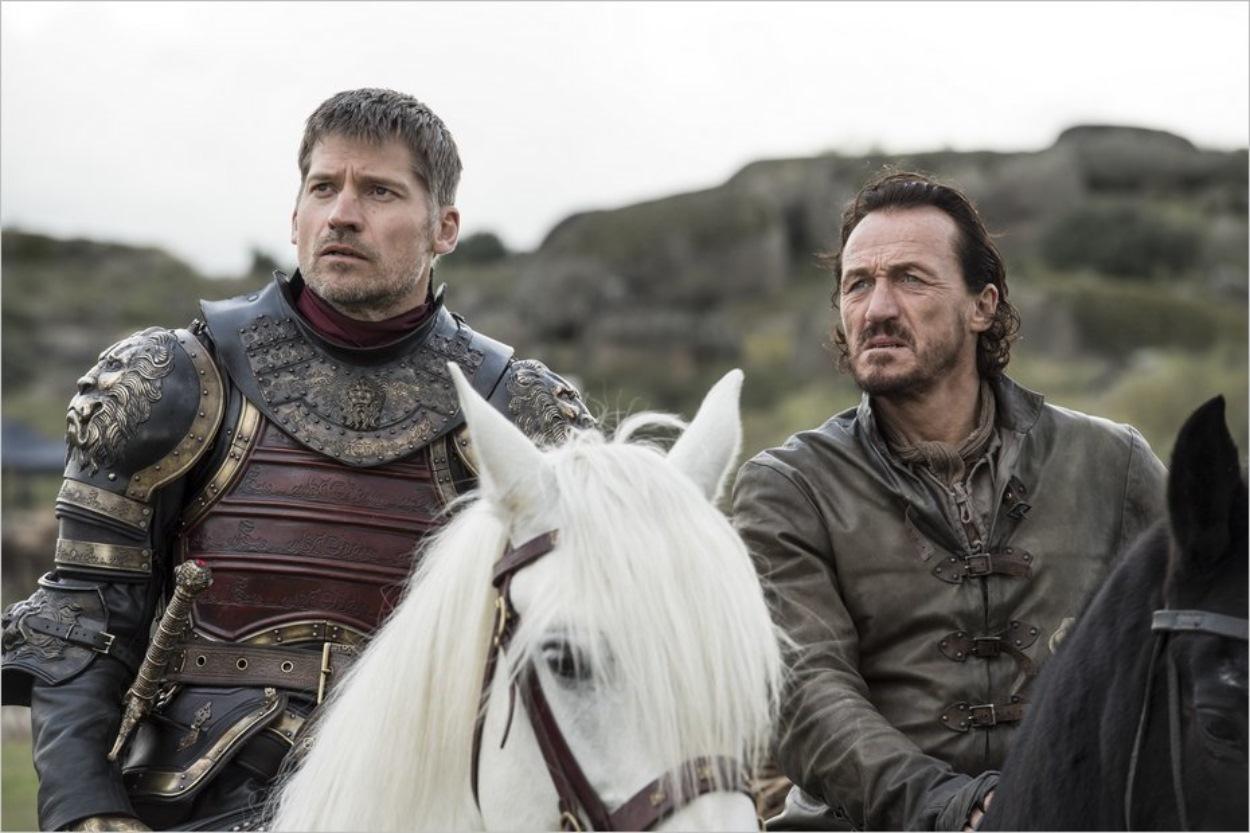 Jaime Lannister et Bronn dans Game Of Thrones saison 7 épisode 4
