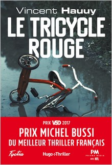 Le tricycle rouge, Vincent Hauuy