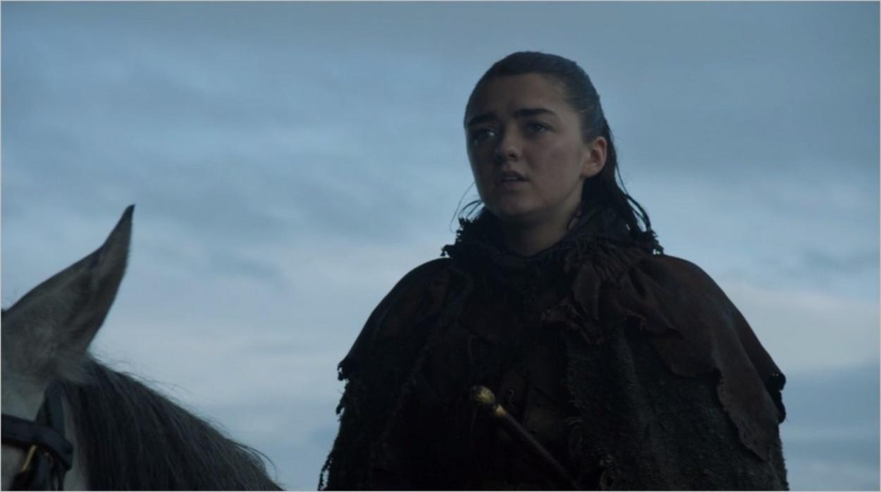 Arya Stark arrive à Winterfell