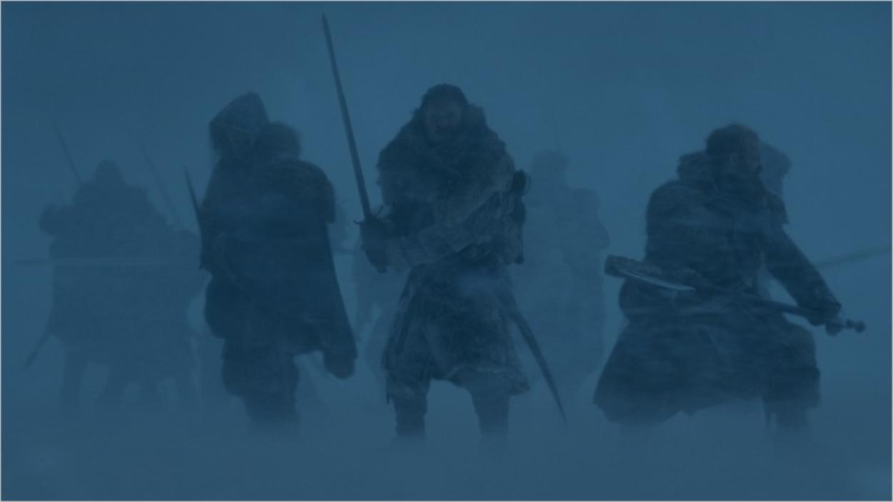 Bataille dans une tempête de neige - Saison 7 épisode 6