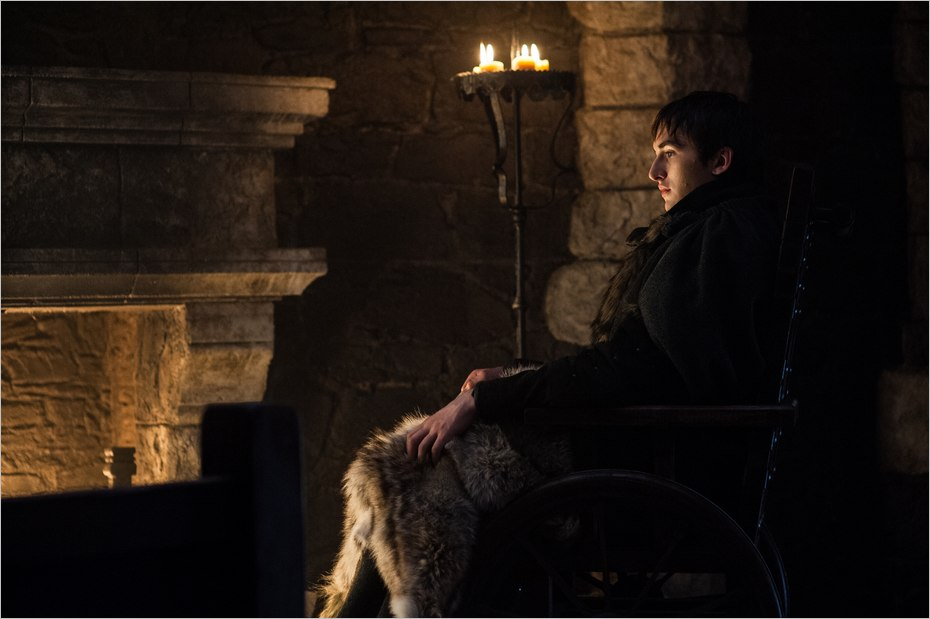 Bran Stark dans Game Of Thrones saison 7 épisode 7