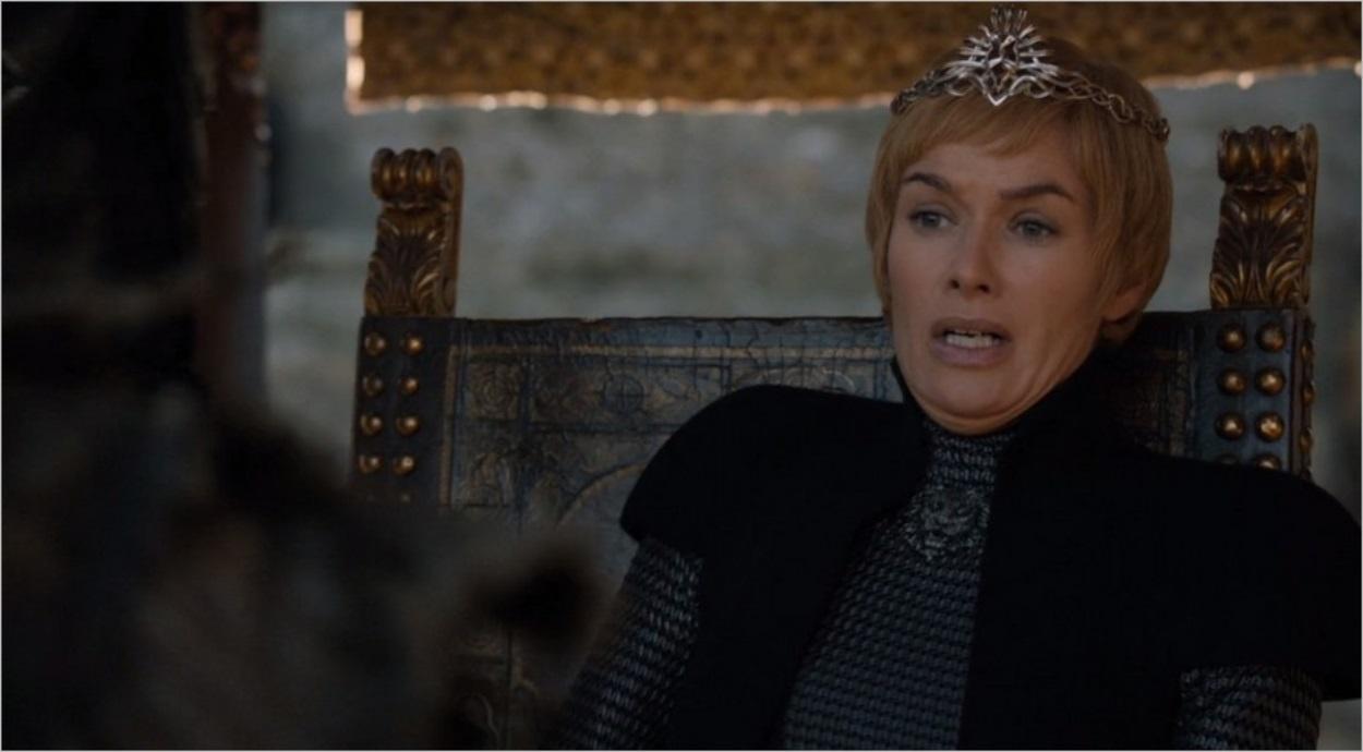 Cersei Lannister en panique face au mort-vivant