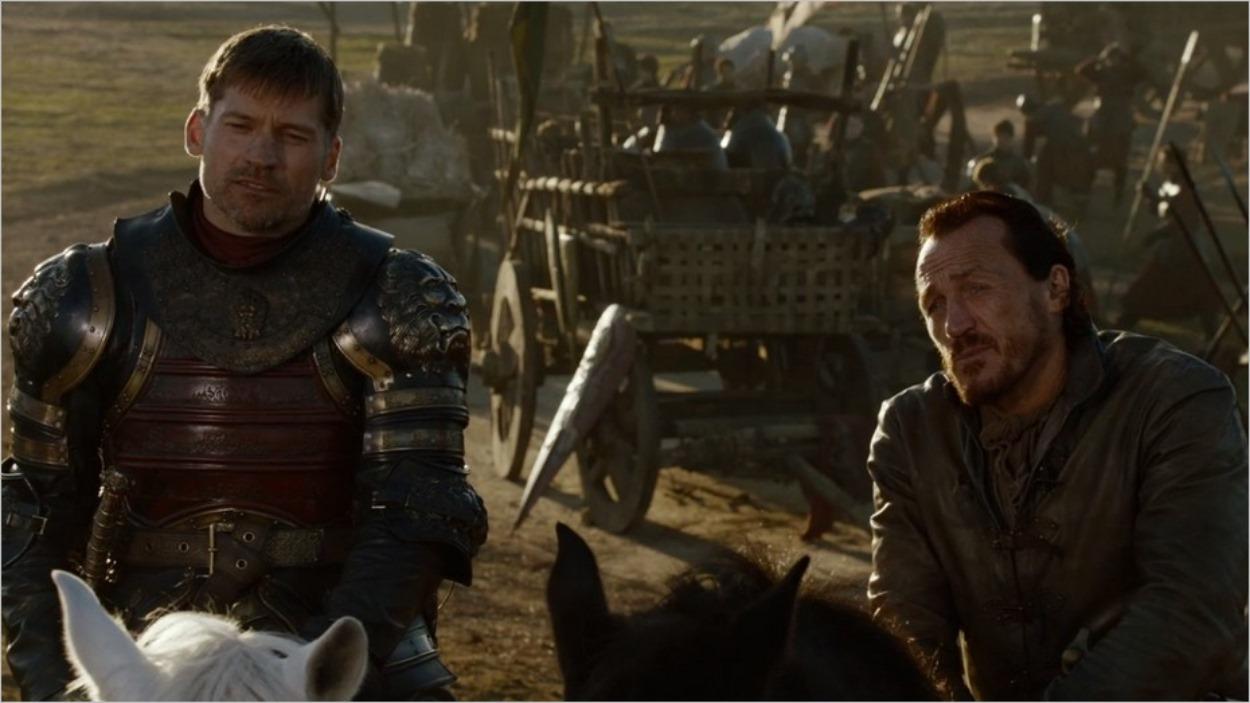 Jaime et Bronn près de Port-Réal - Épisode 4 saison 7
