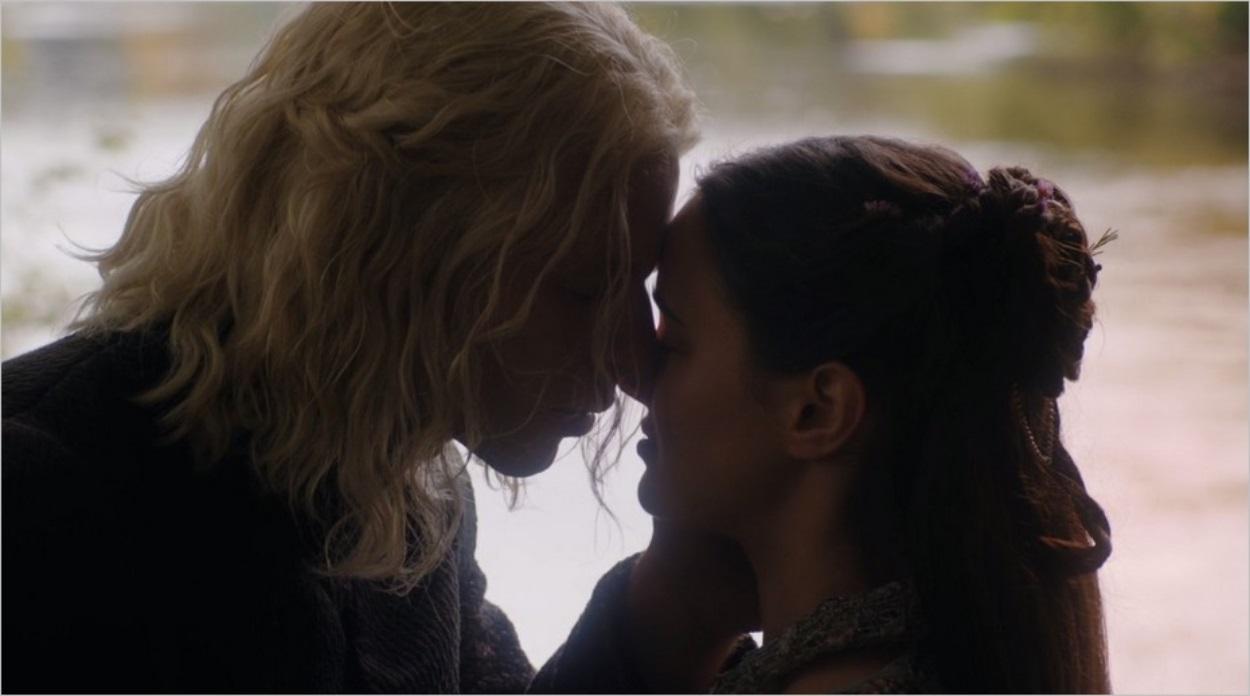 Rhaegar Targaryen et Lyanna Stark lors de leur mariage
