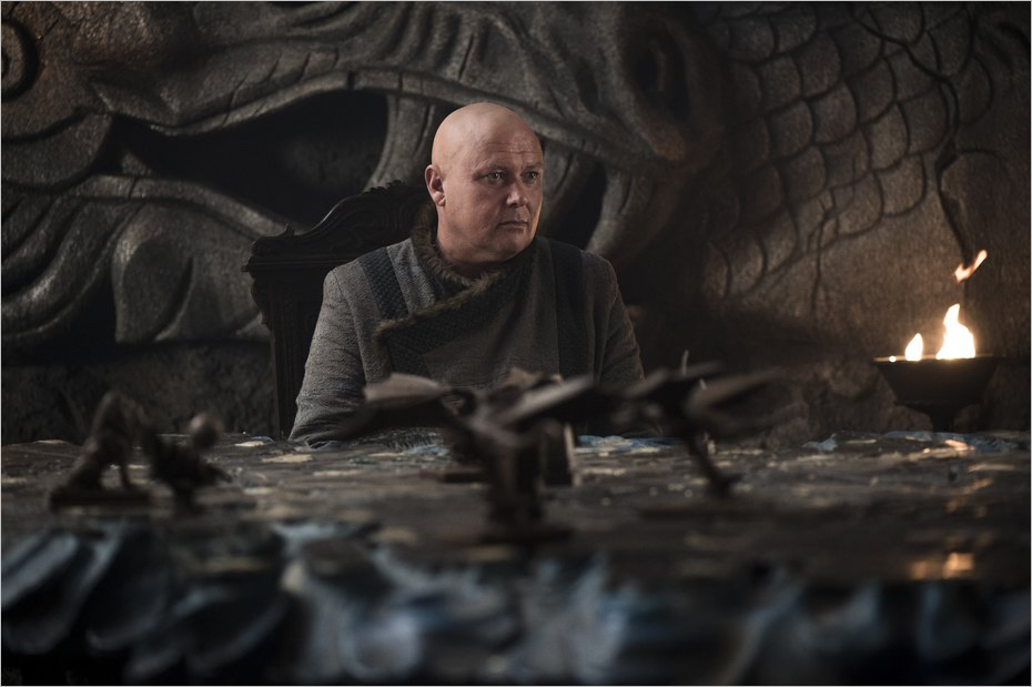 Varys dans la saison 7 de Game Of Thrones