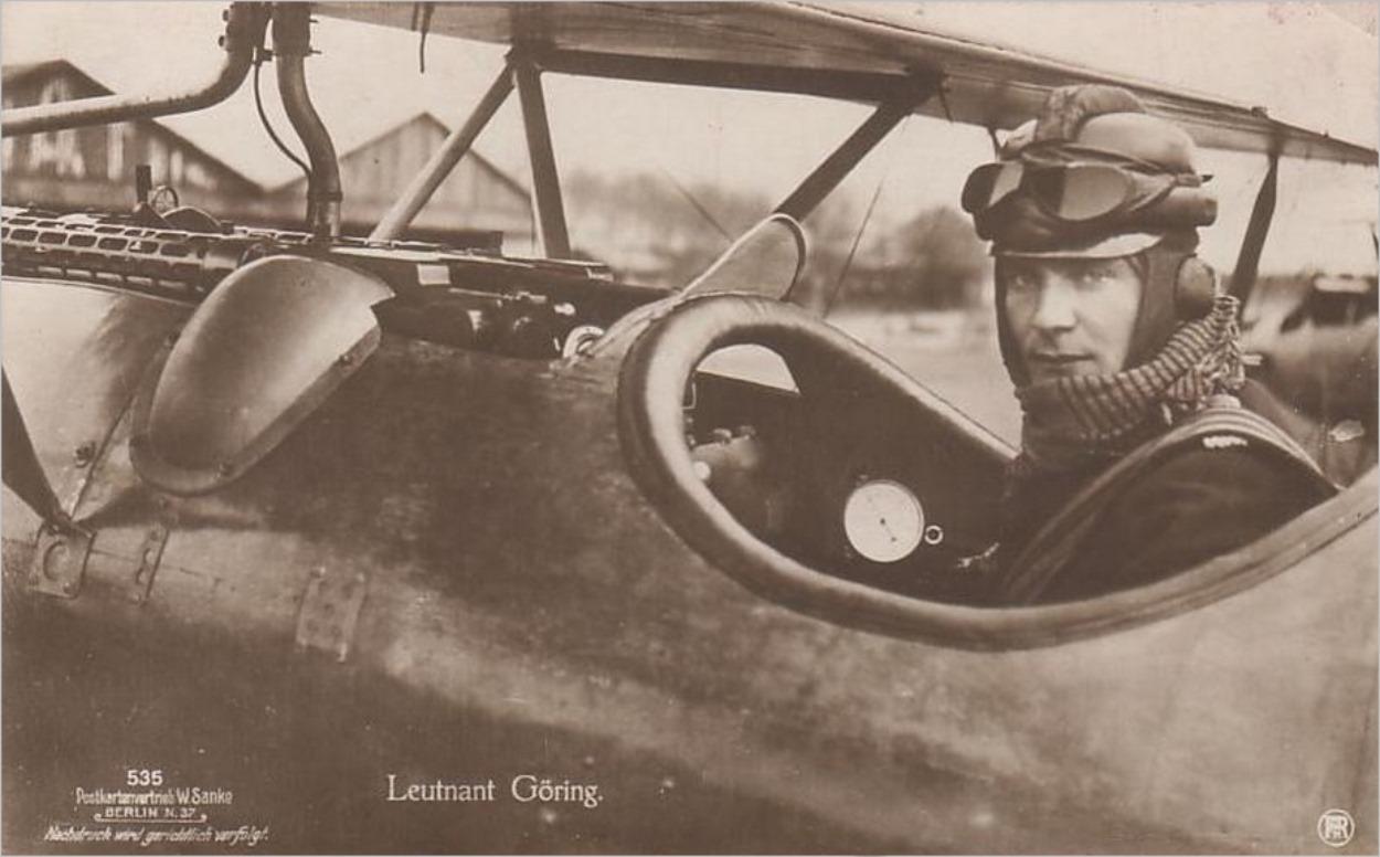 Hermann Goering pendant la Première Guerre Mondiale