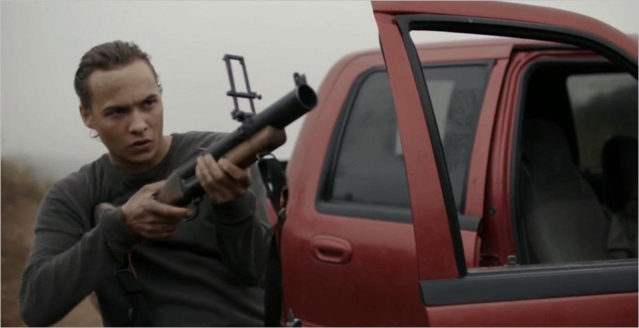 Nick Clark (Frank Dillane) prêt pour l'assaut