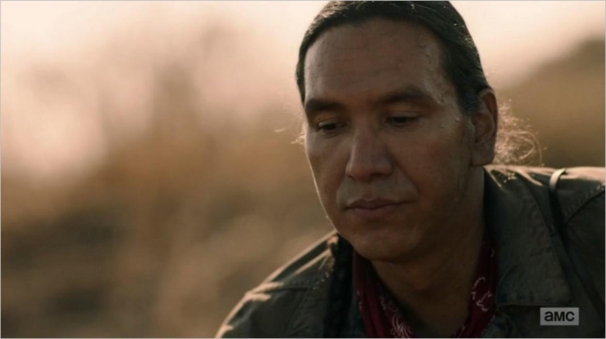 Walker dans le dernier épisode de la saison 3 de Fear The Walking Dead