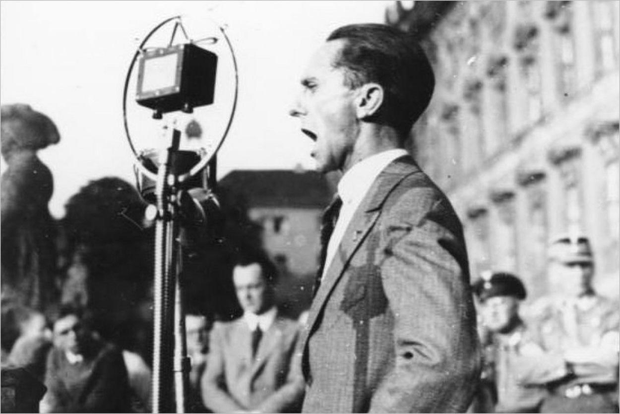 Joseph Goebbels, ministre de la propagande nazie