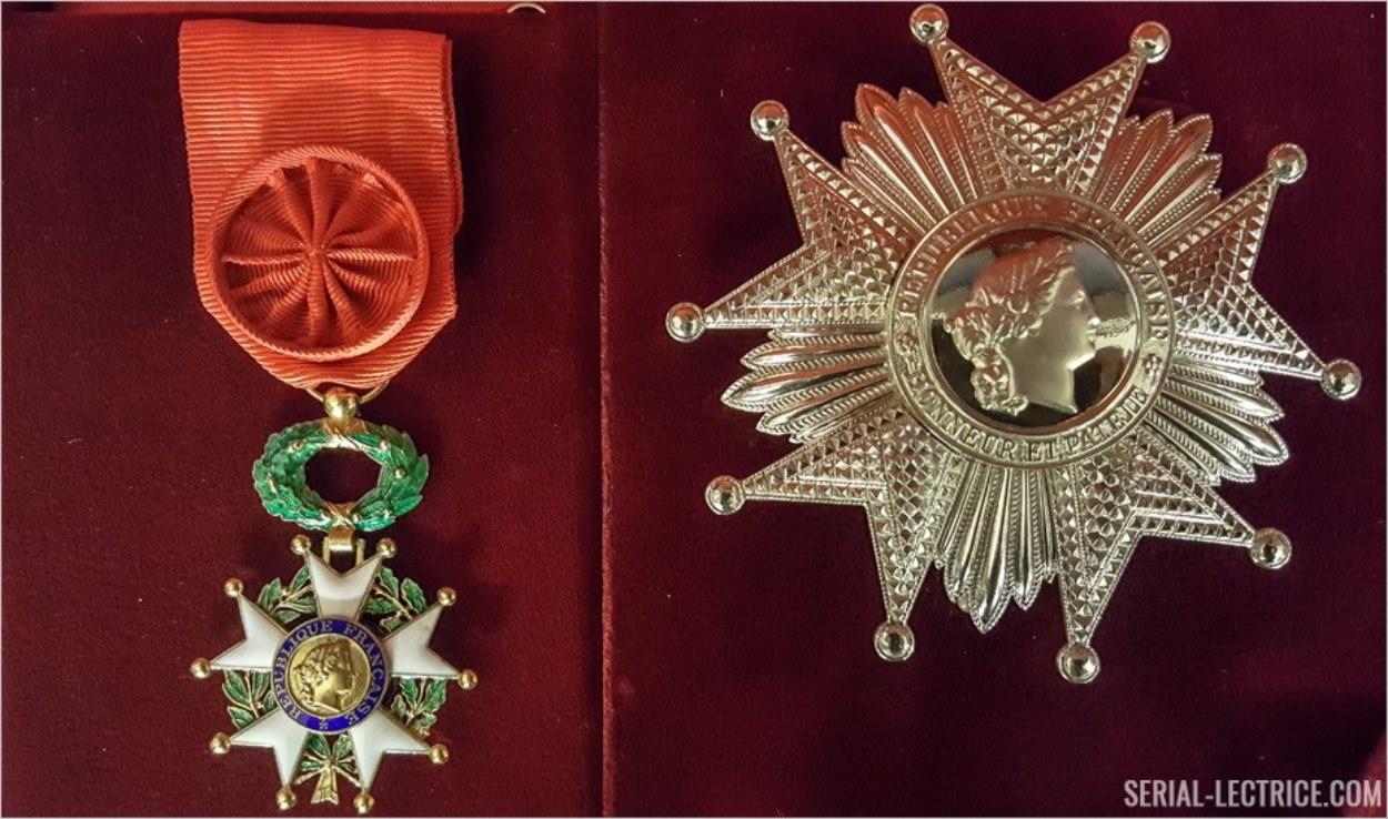 Officier et Grand Officier de la Légion d'Honneur