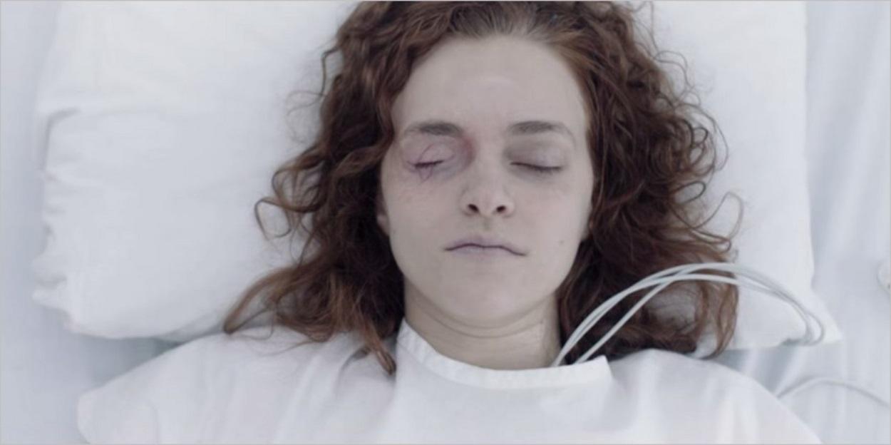 Janine à l'hôpital après sa tentative de suicide