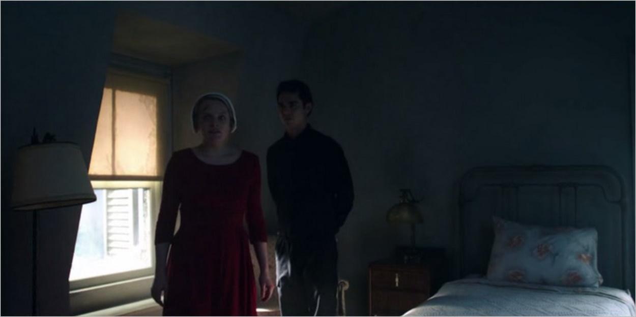 June emmenée par les hommes en noir - La Servante Ecarlate saison 1