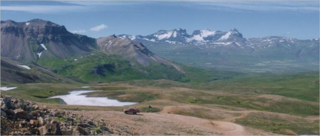 Le très beau décor du film Heartstone en Islande