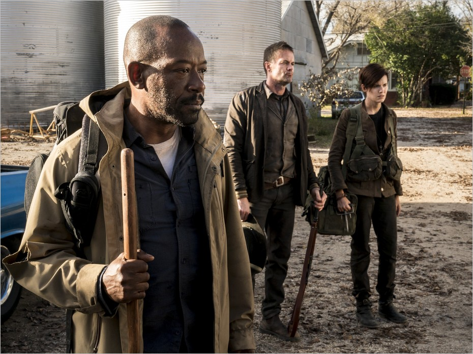 Le trio : Morgan, John et Al - Fear The Walking Dead saison 4