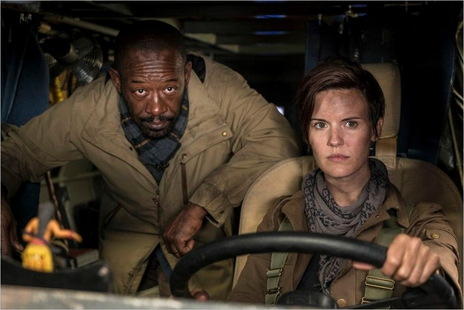 Fear The Walking Dead saison 4 épisode 1 - Morgan Jones et Althea