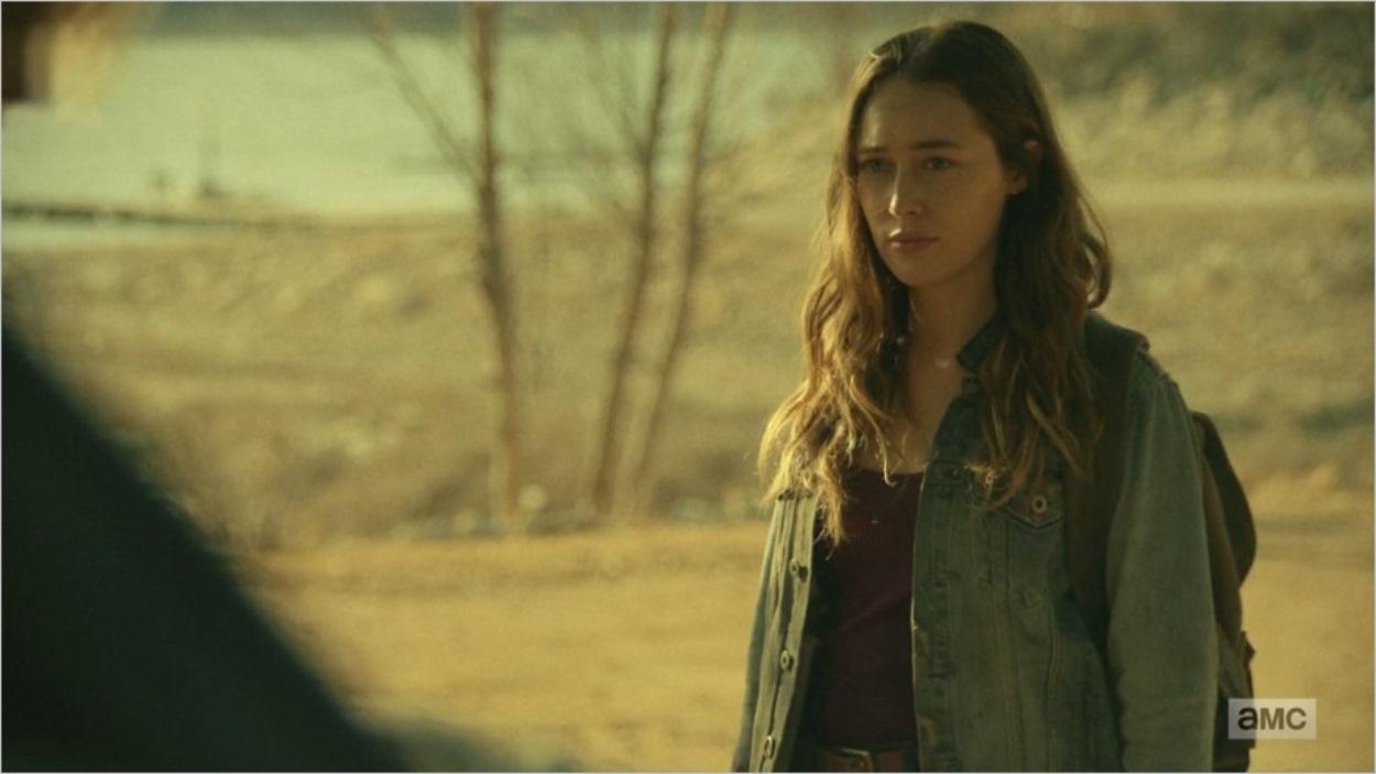 Alicia échange avec Naomi - Fear The Walking Dead saison 4 épisode 4