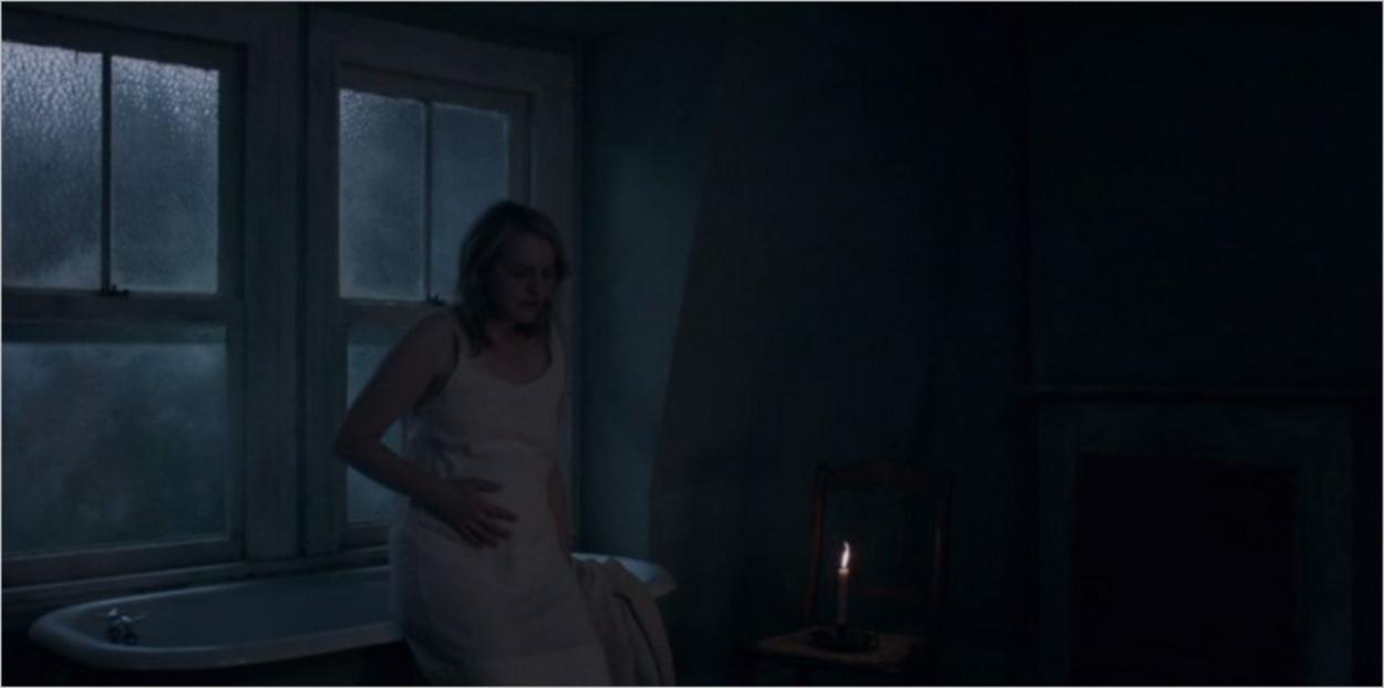 June enceinte - La Servante Écarlate saison 2 épisode 4
