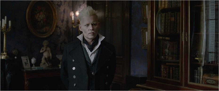 Johnny Depp sous les traits de Gellert Grindelwald