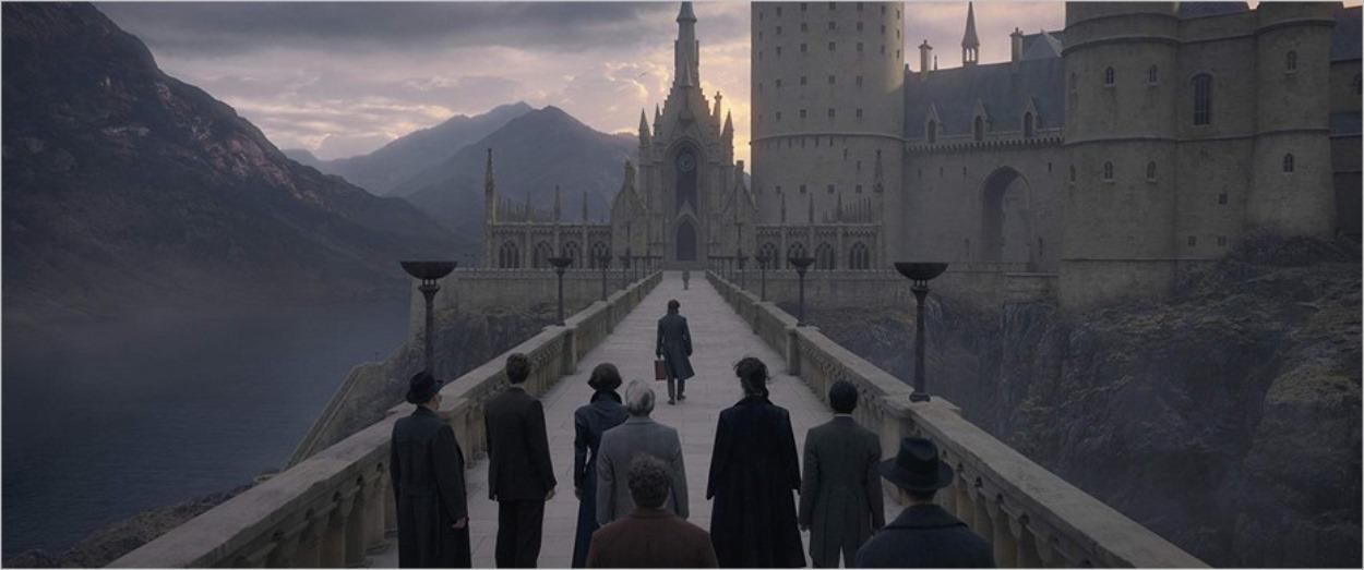 Poudlard dans Les Crimes de Grindelwald