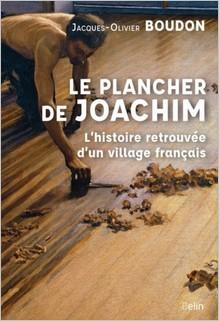 Le plancher de Joachim, Jacques-Olivier Boudon
