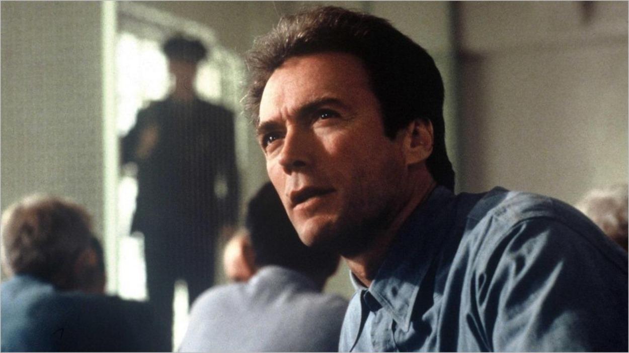 Clint Eastwood dans L'évadé d'Alcatraz de Don Siegel