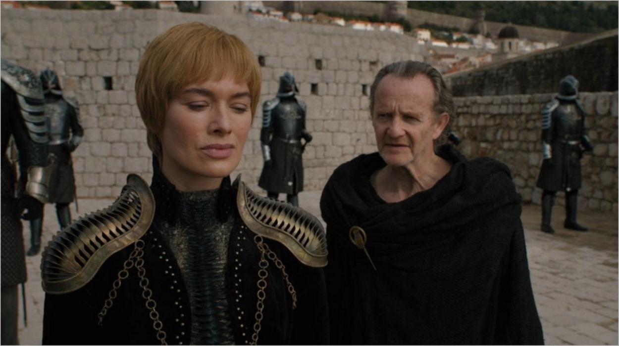 Cersei et Qyburn à Port-Réal