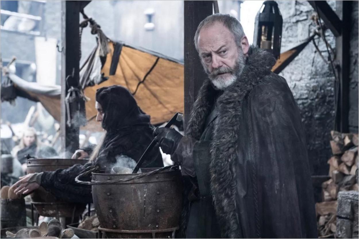 Davos Mervault à Winterfell