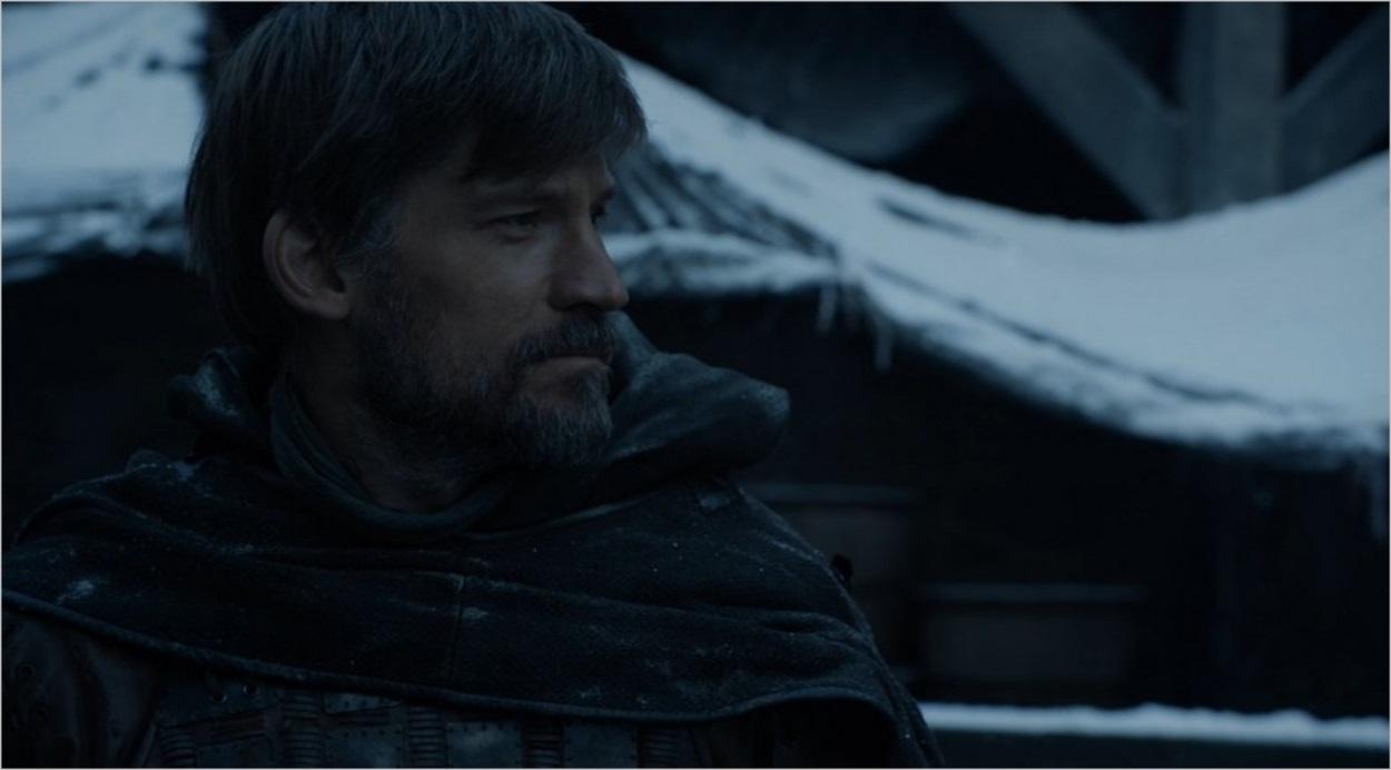 Jaime Lannister face à Bran Stark à Winterfell
