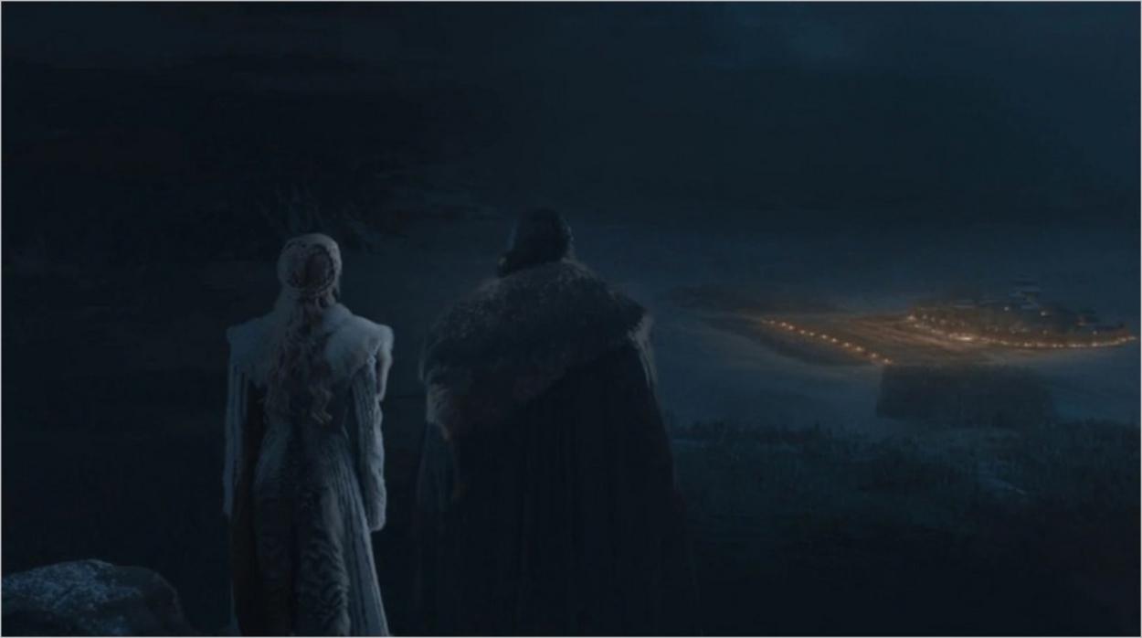 Jon Snow et Daenerys Targaryen - Saison 8 épisode 3