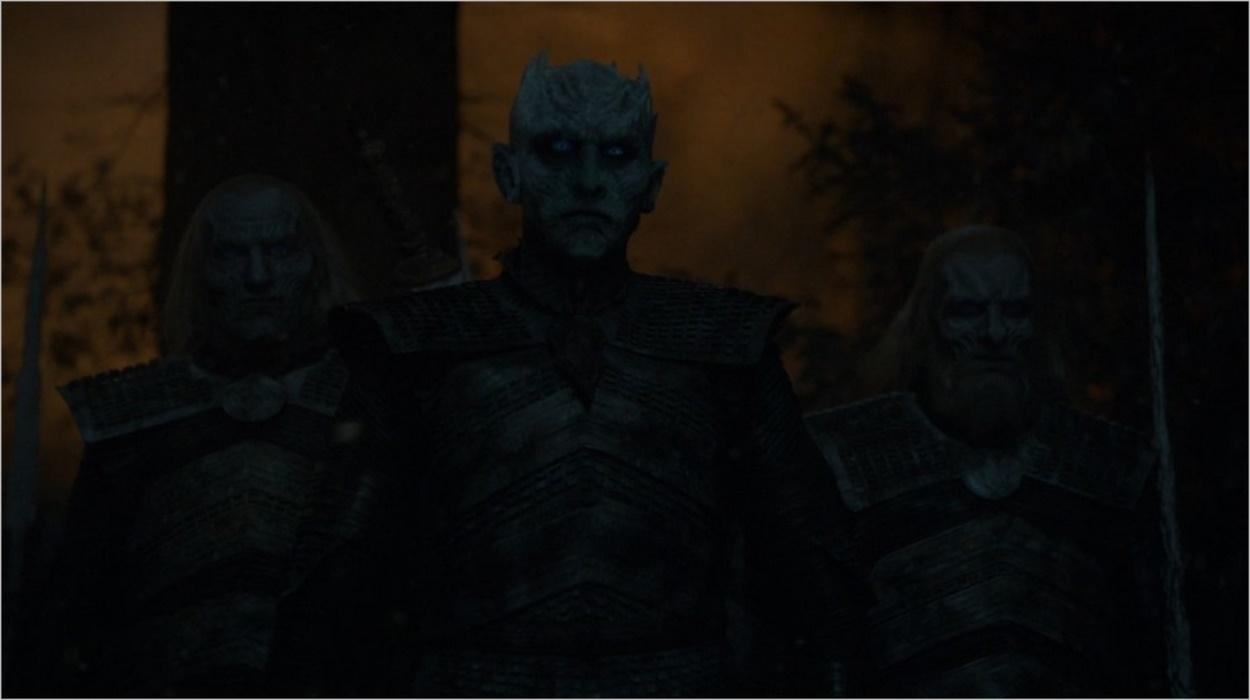Le Roi de la Nuit se dirige vers Bran Stark