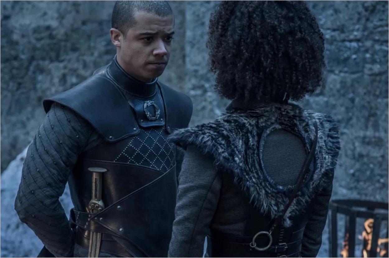 Ver Gris et Missandei à Winterfell