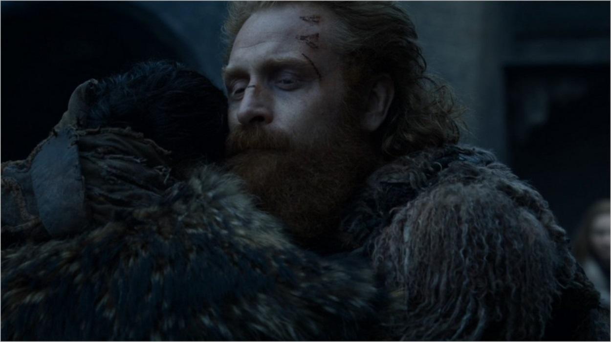 Les adieux entre Jon et Tormund - Saison 8 épisode 4
