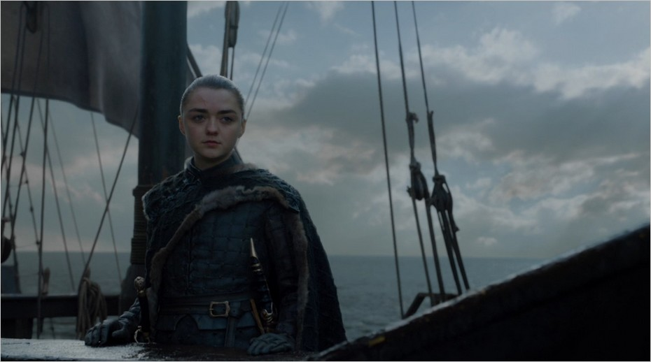 Arya Stark l'exploratrice - Dernier épisode de Game Of Thrones