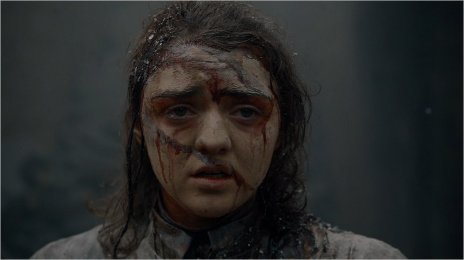 Arya Stark vivante après la destruction de Port-Réal