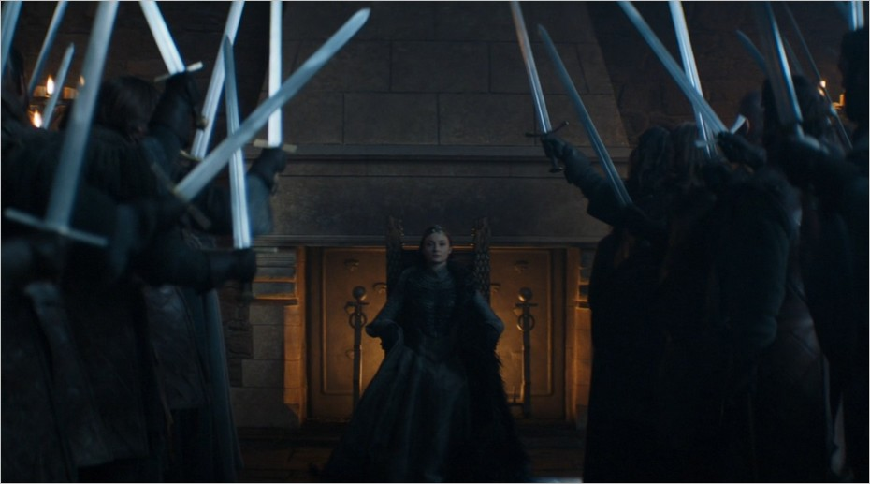 Le couronnement de Sansa Stark