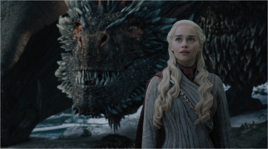 Daenerys et ses dragons - Game Of Thrones