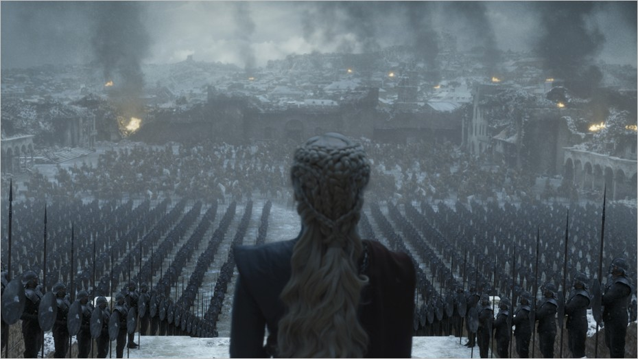 Daenerys Targaryen à Port-Réal - Game Of Thrones saison 8 épisode 6