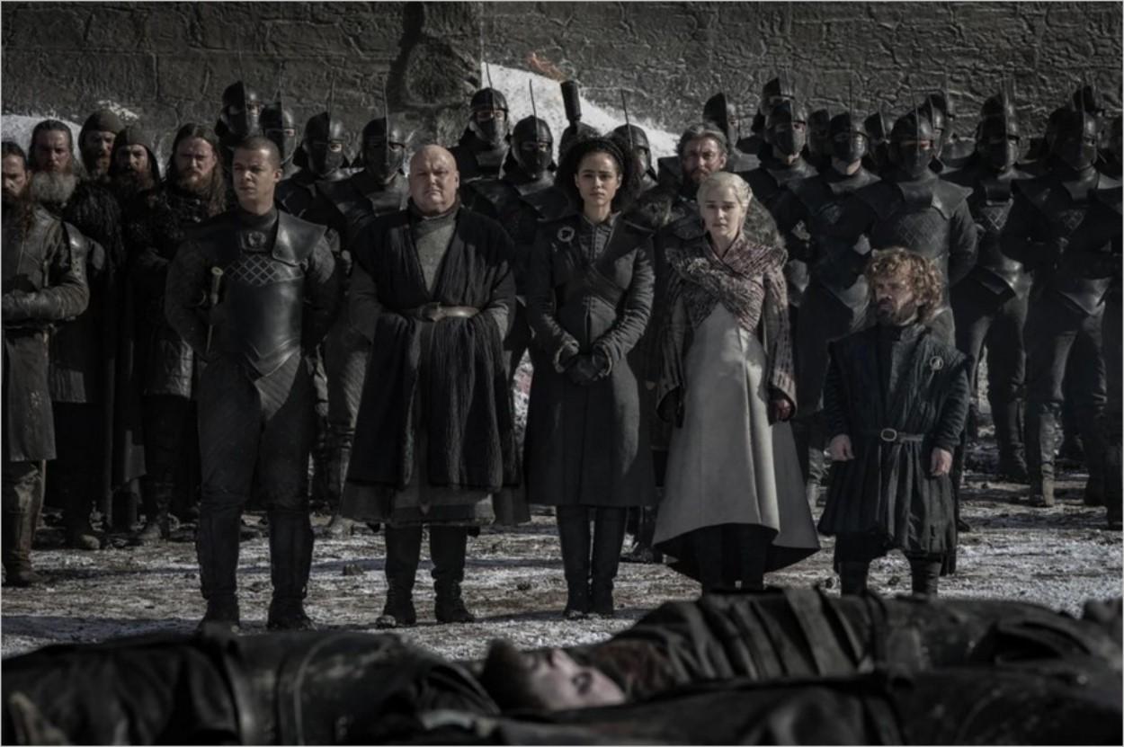 Daenerys Targaryen et ses alliés - Episode 4 de la saison 8 de Game Of Thrones