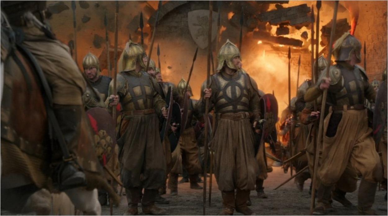 Explosion à Port-Réal - Game Of Thrones