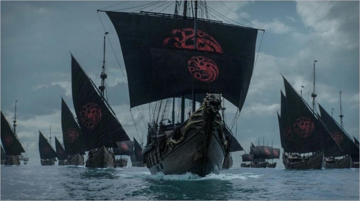 La flotte Targaryen - Game Of Thrones