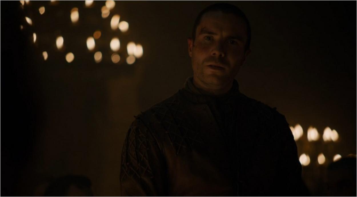 Gendry apprend qu'il est nommé Seigneur d'Accalmie