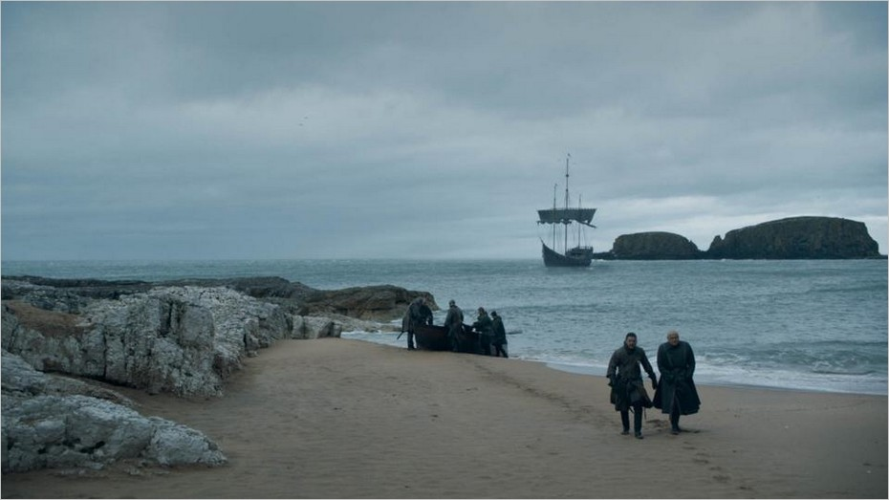 Jon Snow et Varys