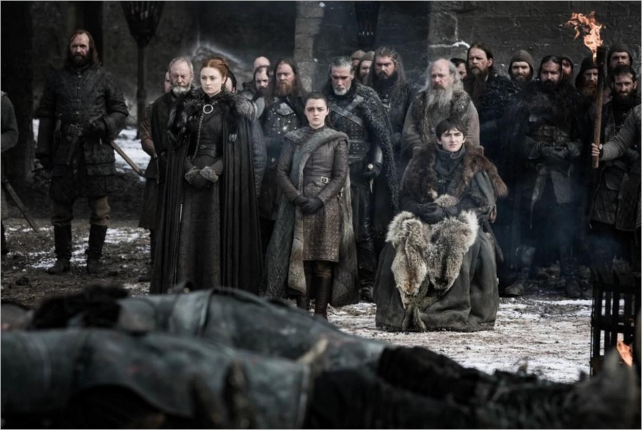 Les survivants de la bataille de Winterfell - Saison 8