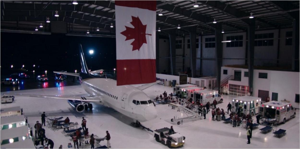 L'avion de Mayday arrive au Canada - The Handmaid's Tale saison 3