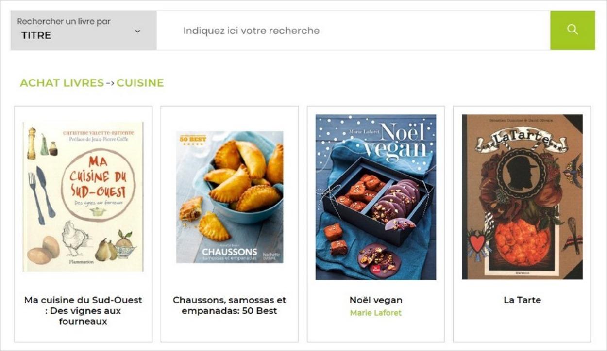 A table ! Livres de cuisine sur Kiwibook