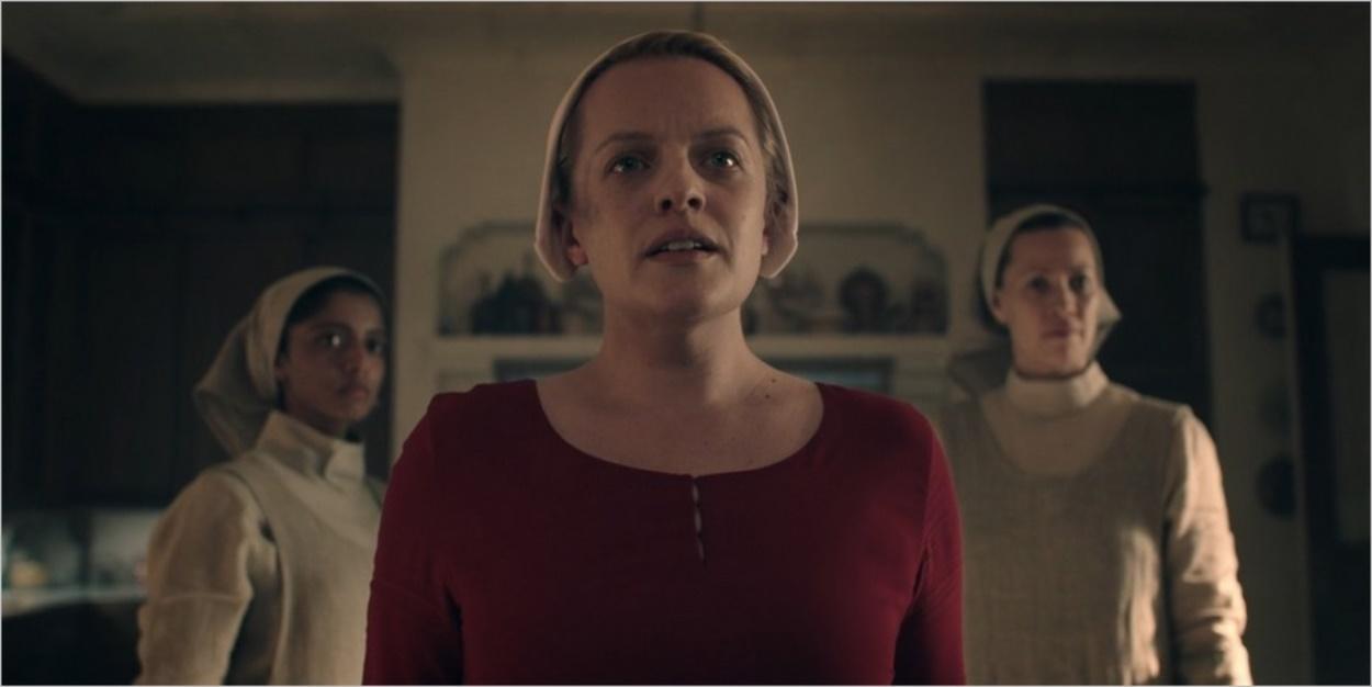 Sienna, June et Beth - La Servante Ecarlate saison 3 épisode 13