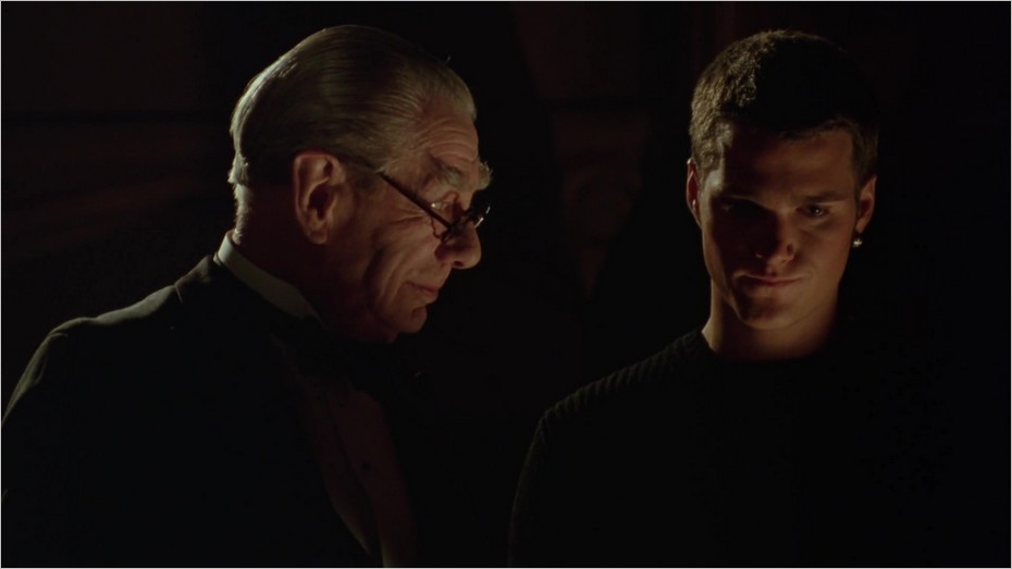 Alfred et Dick Grayson